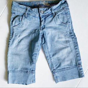 REFUGE Size 0 Bermuda jean shorts